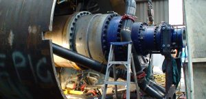 تعمیرات گیربکس های صنعتی بزرگ
