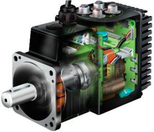 الکتروموتور پله ایی یا سرو موتور