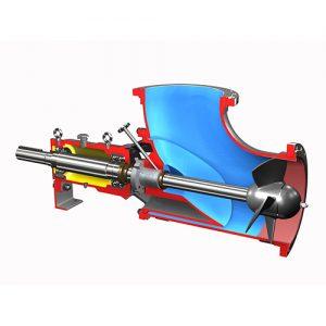 پمپ های خطی Axial Flow Pump