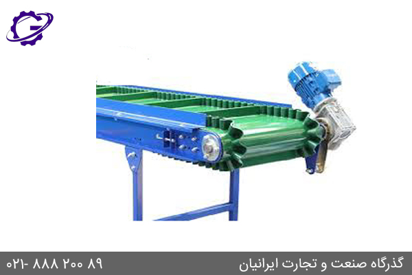 کاربرد گیربکس حلزونی در نوار نقاله Conveyer Worm Gearbox