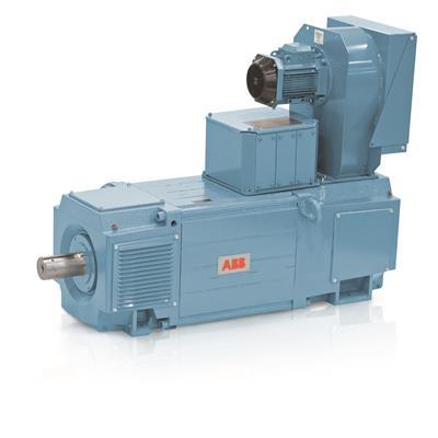 الکتروموتور ABB جریان مستقیم Electric Motor DC سری DMI