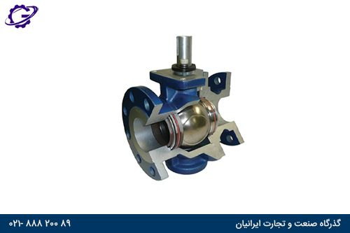 شیر توپی بال ولو ball valve