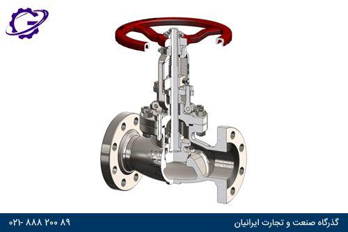 گلوب ولو globe-valve