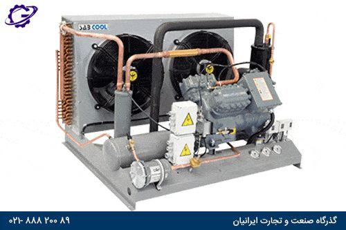 کمپرسور اسکرو سردخانه و سیستم برودت refrigration-screw-compressor