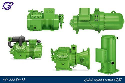 انواع کمپرسور بیتزر Type of bitzer compressor