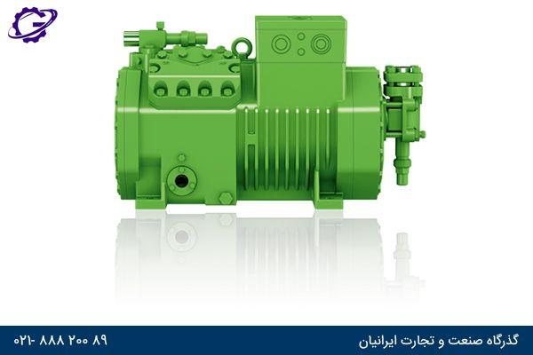 کمپرسور بیتزر پیستونی bitzer compressor reciprocating