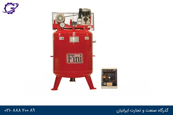 کمپرسور مخزن عمودی فینی - Fini Vertical Tank Compressor