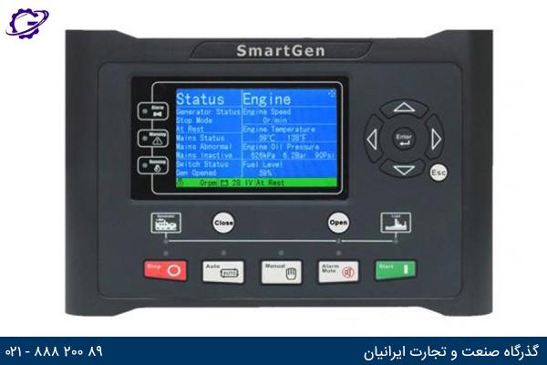 تصویر صفحه کنترل ژنراتور