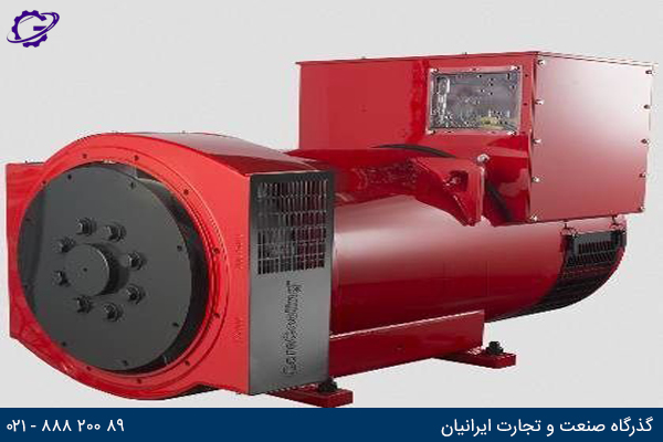 تصویر دستگاه تولید برق (آلترناتور) برند کامینز آمریکا