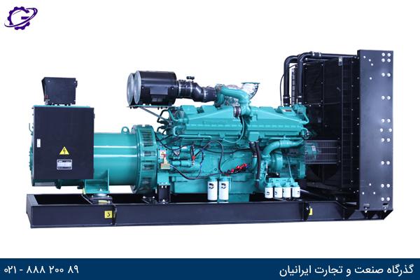 تصویر ژنراتور برق صنعتی