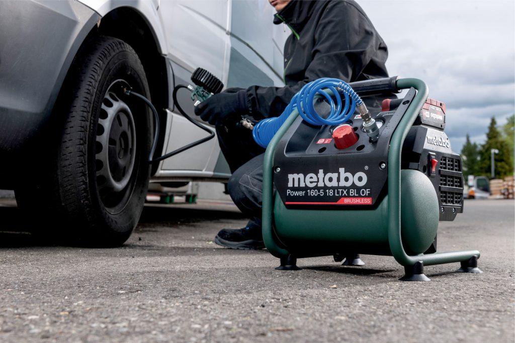 کاربرد کمپرسور متابو - Metabo Compressor Application