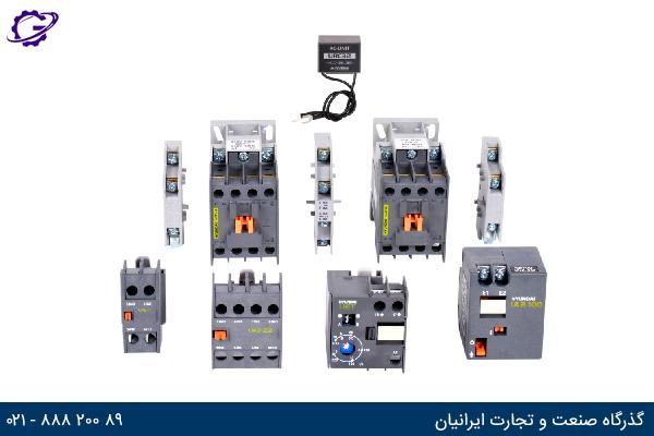 تجهیزات جانبی کنتاکتور هیوندای(HYUNDAI)