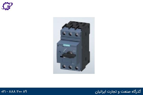 تصویر محافظ استارت موتور زیمنس مدل SIRIUS 3RV23