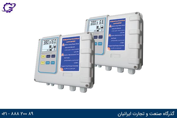 تصویر تابلو کنترل اسپیکو مدل SPL 512 LCD(220V) و SPL 532 LCD(380V)