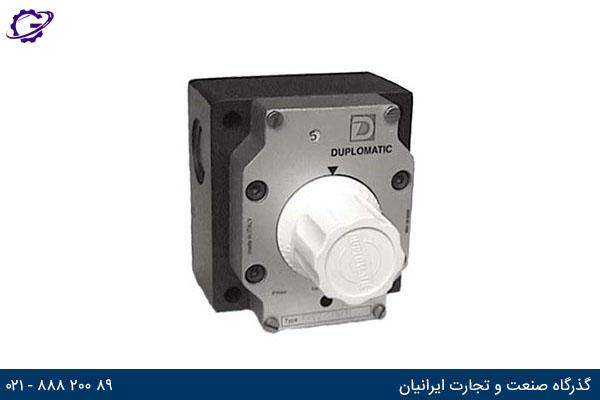 شیر کنترل جریان جبران کننده فشار دوپلوماتیک سری RPC