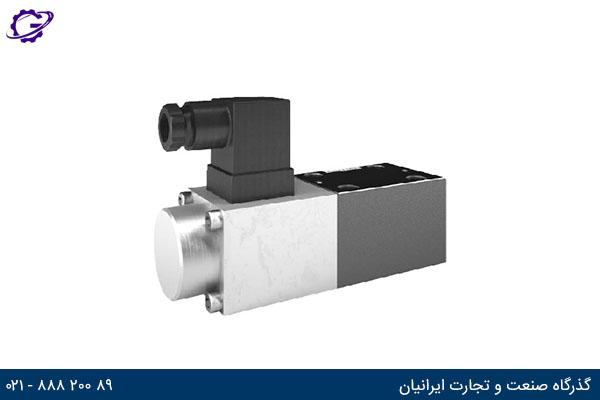 شیر پروپرشنال کنترل فشار رکسروت DBETX