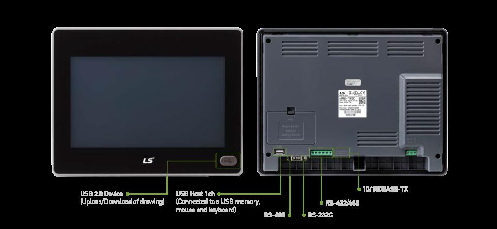 تصویر مشخصات HMI ال اس مدل eXP Series