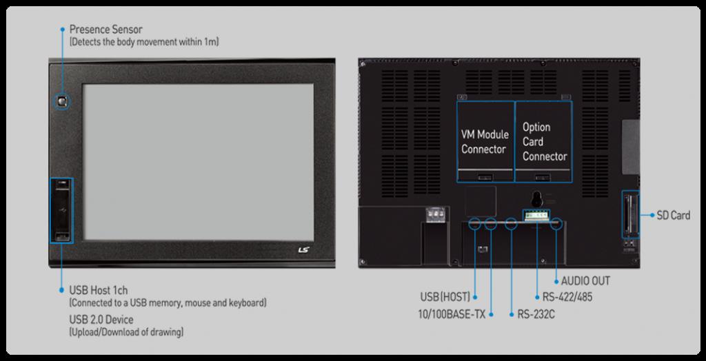 تصویر مشخصات HMI ال اس مدل iXP Series