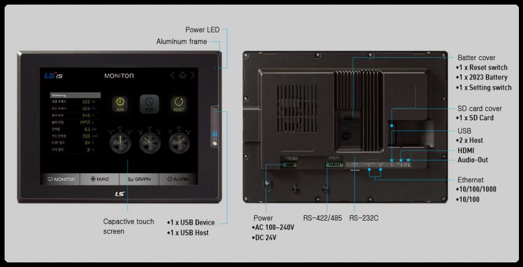 تصویر مشخصات HMI ال اس مدل iXP2 Series