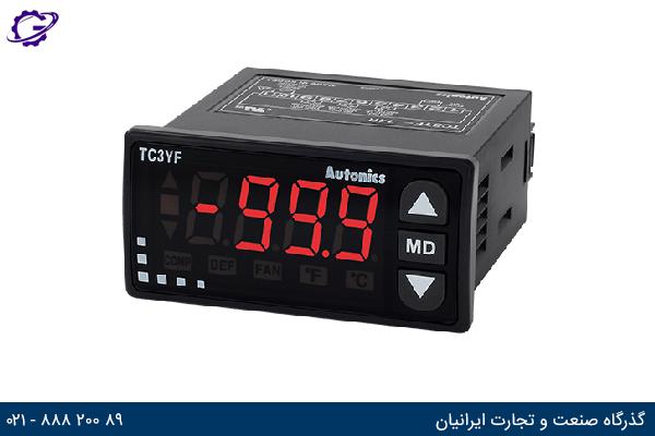 تصویر کنترلر دما آتونیکس مدل TC3YF