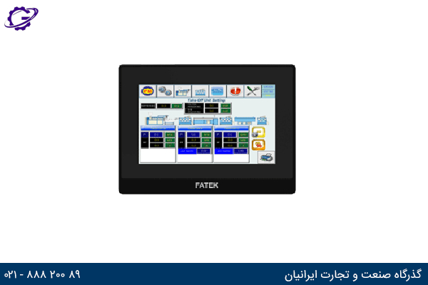 تصویر Fatek HMI مدل FK-070ST-T41