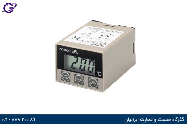 تصویر کنترلر دما OMRON مدل E5L