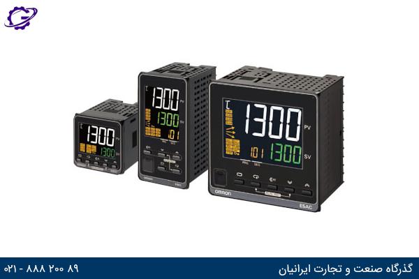 تصویر کنترلر دما OMRON مدل E5_C-T