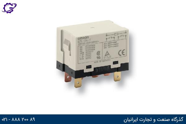 تصویر رله صنعتی OMRON مدل G7L