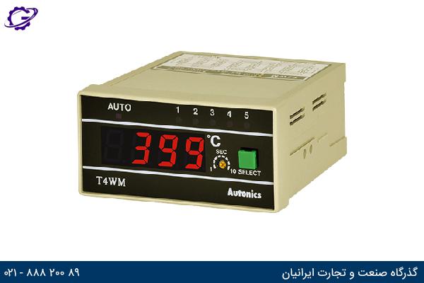 تصویر کنترلر دما آتونیکس مدل T4WM