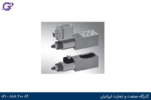 شیر پروپرشنال کنترل فشار رکسروت (Z)DBE and (Z)DBEE