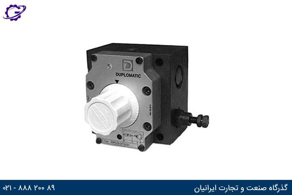 شیر کنترل جریان سه راهه جبران کننده فشار RPC - T3