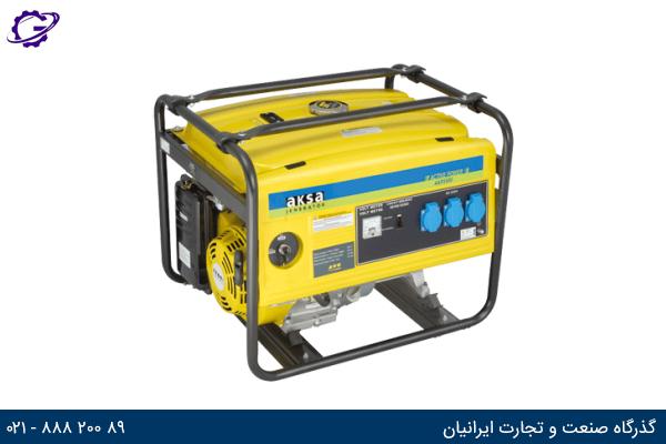 تصویر موتور برق بنزینی آکسا مدل  AAP5500E