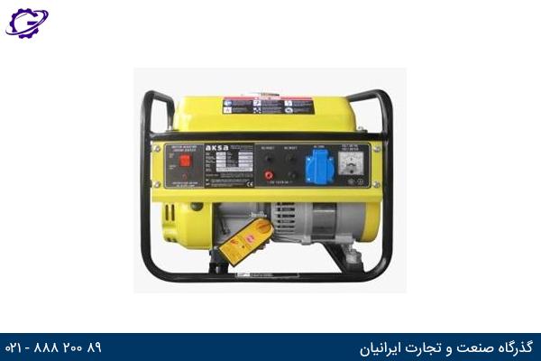 تصویر موتور برق بنزینی آکسا مدل  AAP1200