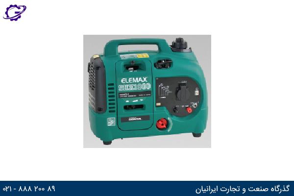 تصویر موتور برق بنزینی المکس مدل  SHX1000