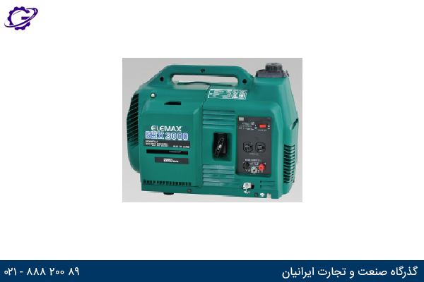 تصویر موتور برق بنزینی المکس مدل  SHX2000