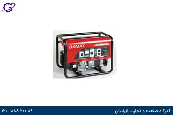تصویر موتور برق بنزینی المکس مدل  SH3200EX