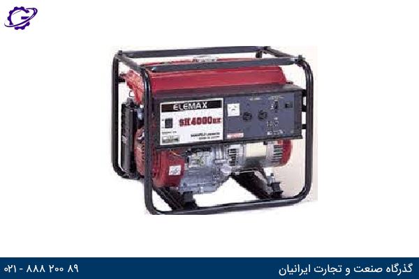 تصویر موتور برق بنزینی المکس مدل  SH4000NX