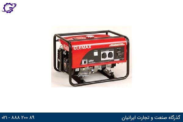 تصویر موتور برق بنزینی المکس مدل  SH4600EX