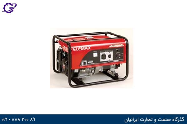 تصویر موتور برق بنزینی المکس مدل  SH7600EX