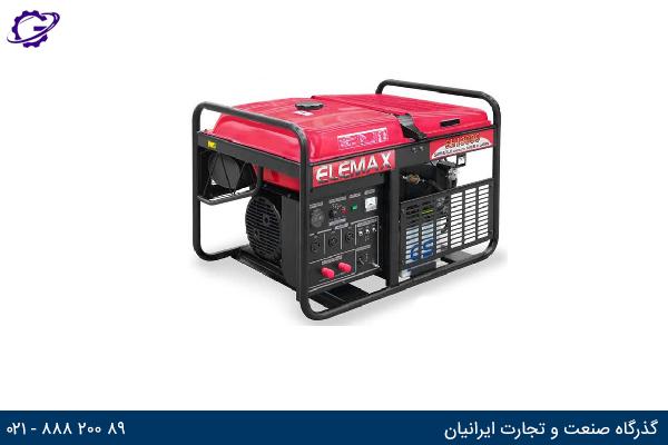 تصویر موتور برق بنزینی المکس مدل  SH13000