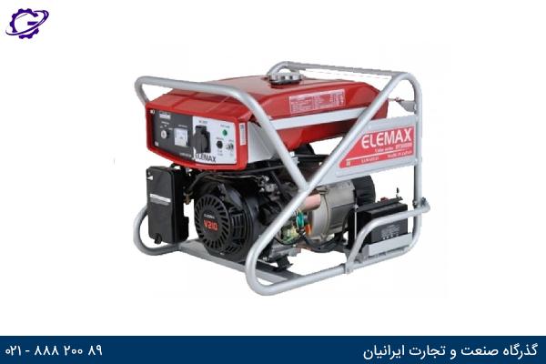 تصویر موتور برق بنزینی المکس مدل  SV2800