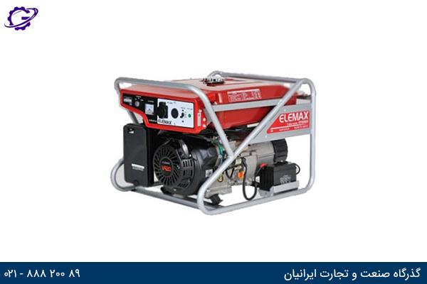 تصویر موتور برق بنزینی المکس مدل  SV6500