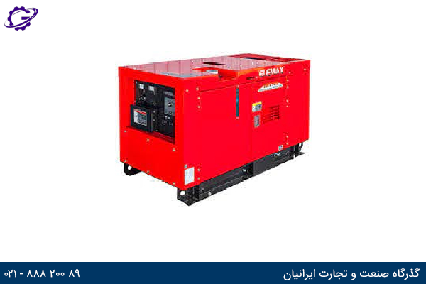تصویر موتور برق بنزینی المکس مدل  SHT15D