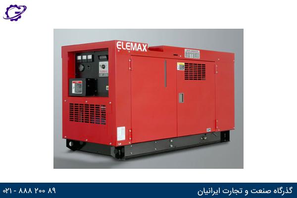 تصویر موتور برق بنزینی المکس مدل  SHT25D