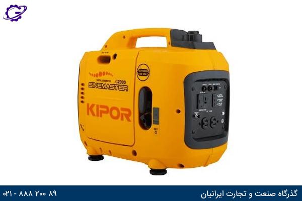 تصویر موتور برق بنزینی کیپور مدل IG2000