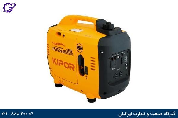تصویر موتور برق بنزینی کیپور مدل IG2600