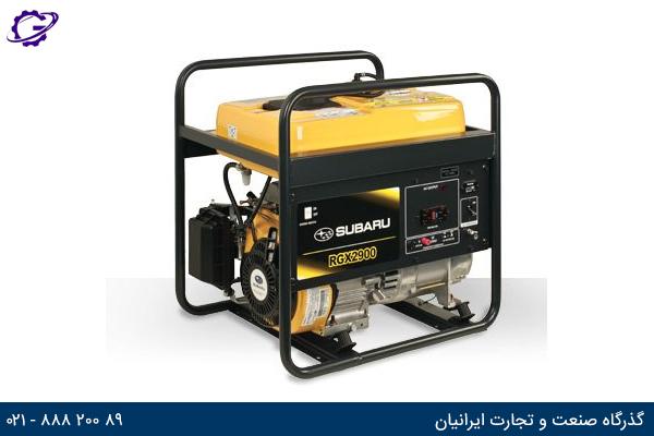 تصویر موتور برق بنزینی روبین مدل RGX2900