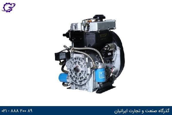 تصویر موتور برق دیزل کوپ مدل KD292F