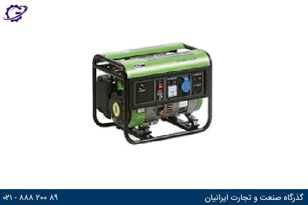 تصویر موتور برق گازی گرین پاور مدل CC1200