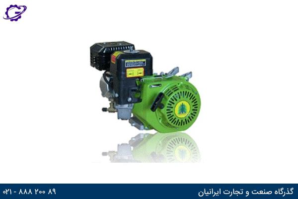 تصویر موتور برق گازی گرین پاور مدل CC154F